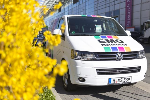 EMO Van at Hannover Messe 2019