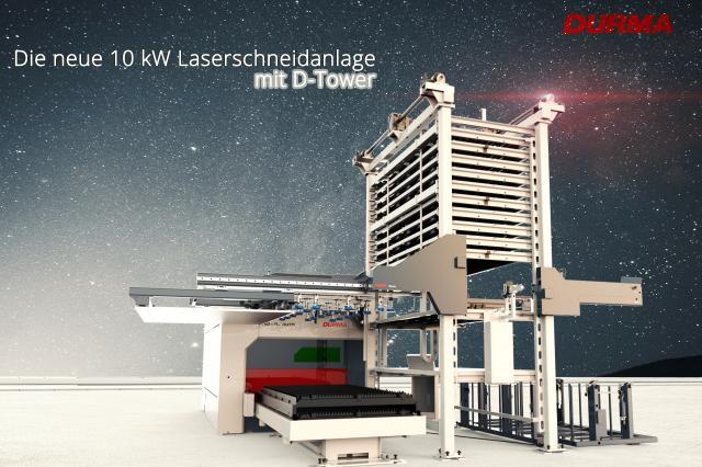 Durma D-Tower wird erstmals auf der Hausmesse vorgestellt | Durma