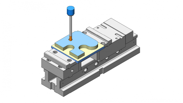 Die vectorcam Maschinensimulation