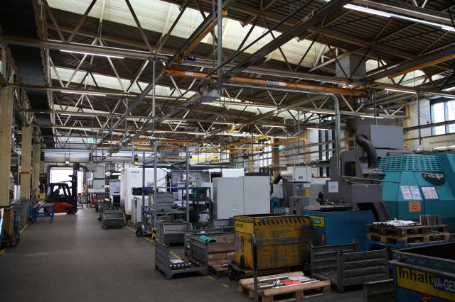 Netzsch: LED technology in the production building – savings