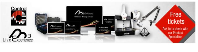 Innovalia Metrology stellt das Konzept der virtuellen Messtechnik mit M3 auf der Control vor