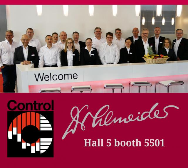 CONTROL 2019 - See you today!