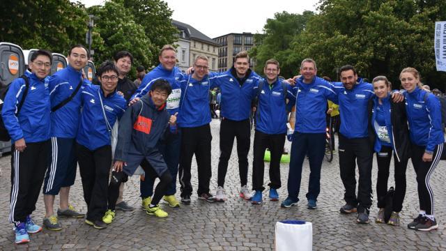 Sumitomo Staffel beim METRO Marathon Düsseldorf 2019