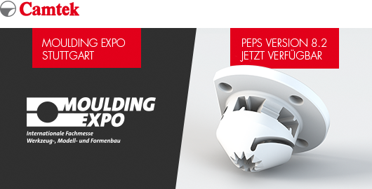 Camtek auf der Moulding Expo 2019 - PEPS Version 8.2