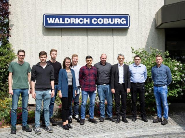 WALDRICH COBURG unterstützt engagierte Studenten