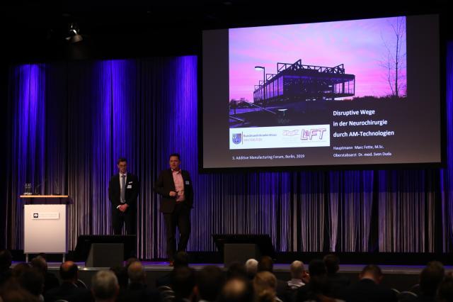 LaFT auf dem 3. Additive Manufacturing Forum