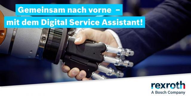 Gemeinsam nach vorne - mit dem Digital Service Assistant!