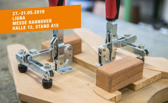 Besuchen Sie uns auf der LIGNA Hannover, 27.-31.05.2019