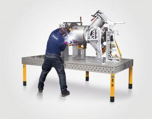 3D welding table and clamping system