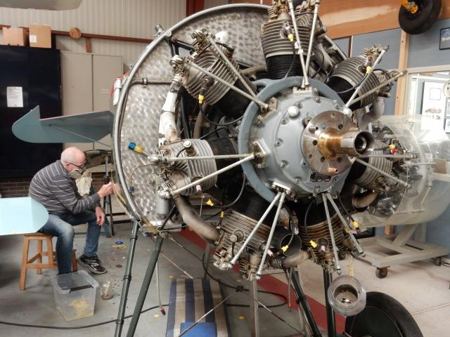 Tools donation helps aircraft restoration project