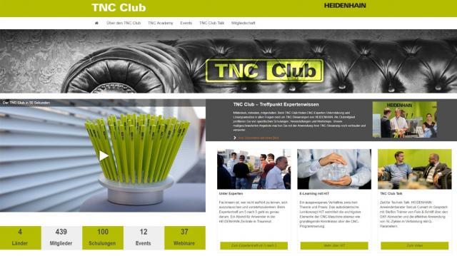 TNC Club mit neuer Website