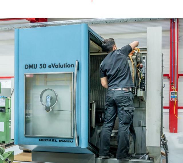 POWER ON - das PowerPaket für Ihre Maschine von Deckel Maho DMU 50 V / eVolution