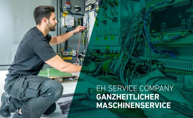 EH ServiceCompany - Ganzheitlicher Service rund um Ihre Werkzeugmaschine