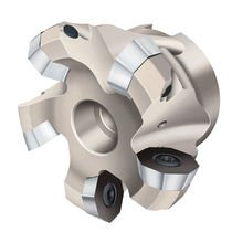 shell-end milling cutter / insert / face / plunge