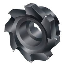 shell-end milling cutter / face / PCD / for non-ferrous materials