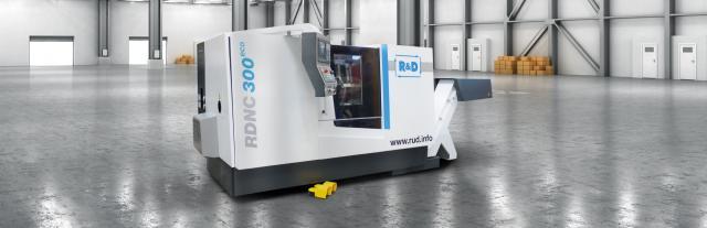R&D startet mit neuer Drehmaschinenbaureihe RDNC