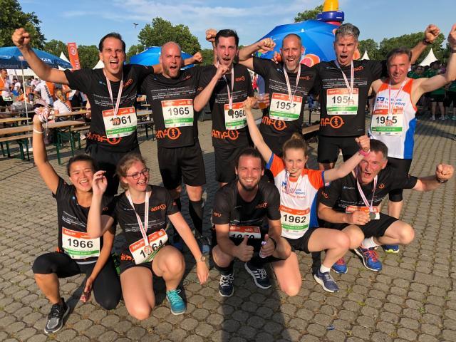 AMF: Erfolgreiche Teilnahme am B2Run-Lauf