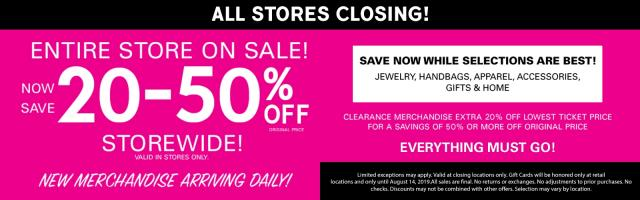 All Charming Charlie Stores Are Closing