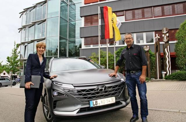 Firmenfahrzeug: mit der Brennstoffzelle in die Zukunft