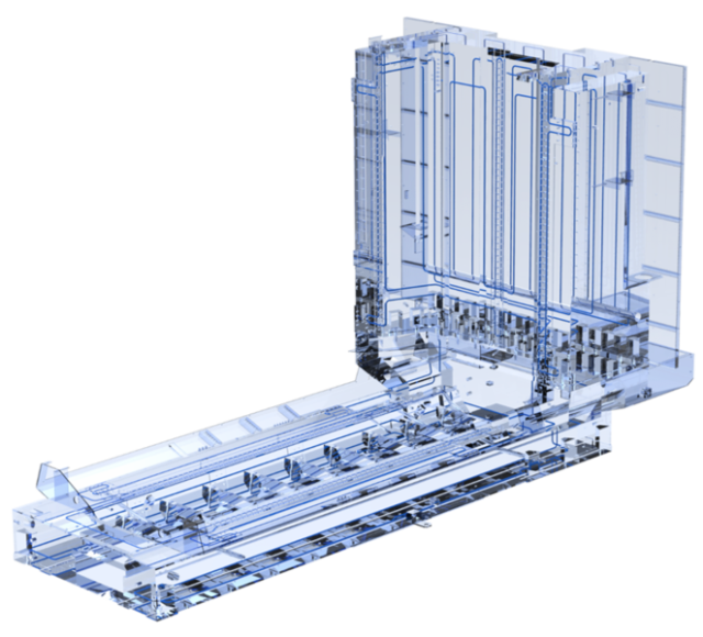 Qualitätssicherung an heissen Tagen - Gekühlte Maschinengrundkomponenten für erhöhte Genauigkeit