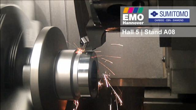 Visit Sumitomo from 16 to 21 September at the EMO 2019 in Hannover