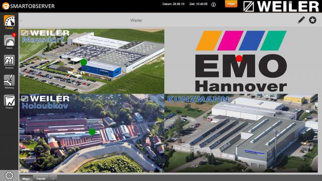 ifm & Weiler: Learn more about Condition Monitoring at EMO 2019