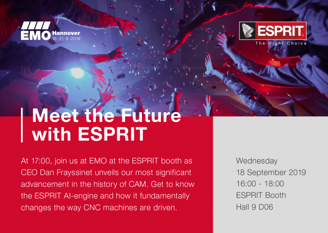 Meet the Future with ESPRIT!