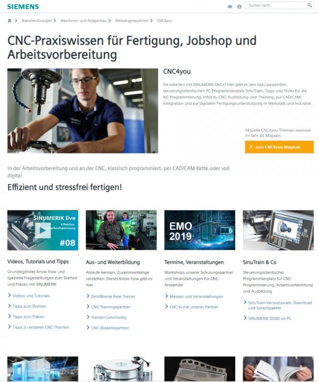 CNC4you-Portal im neuen Look & Feel