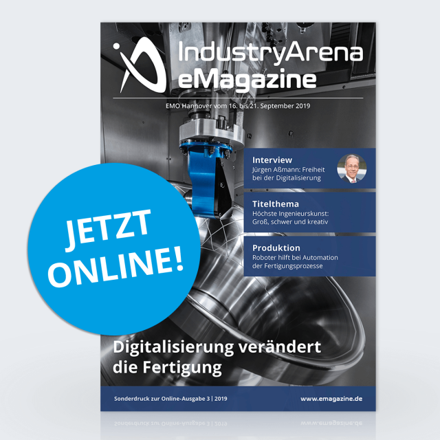 Die neue Ausgabe des IndustryArena eMagazines ist online!