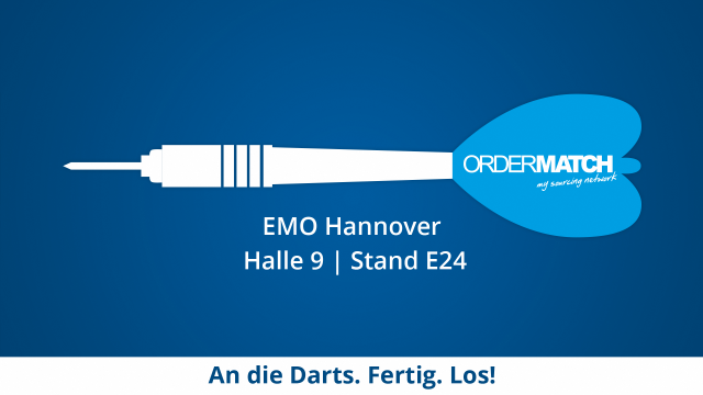 EMO Hannover: Besucht uns in Halle 9 | Stand E24!