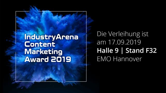 Die Verleihung des Content Marketing Awards 2019