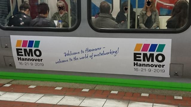Spotted: EMO 2019 - City Hannover