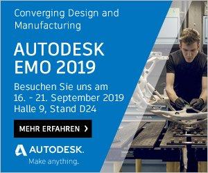 Autodesk auf der EMO 2019