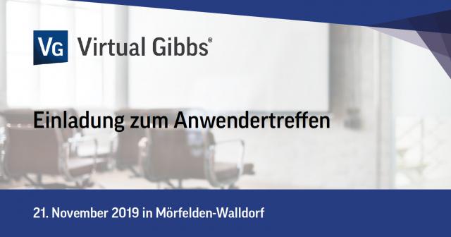 Virtual Gibbs Anwendertreffen 2019