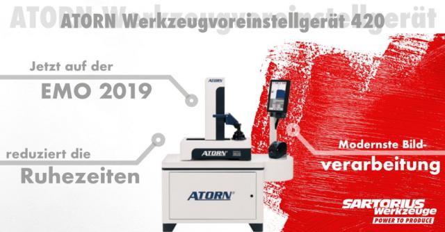 ATORN Werkzeugvoreinstellgerät 420 mit ImageController 1