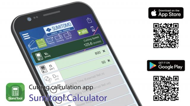 SumiTool Calculator now available as App