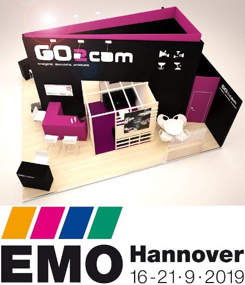 Die Grenzen Ihrer Produktivität wurden NICHT erreicht - GO2cam auf der EMO 2019
