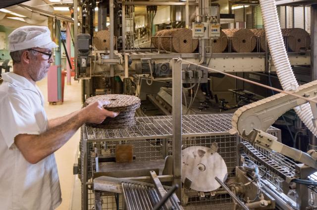 Sensors support the crisp bread production in Sweden