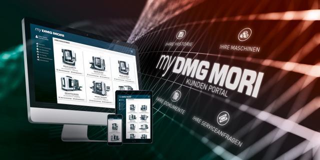 Serviceoptimierung mit my DMG MORI