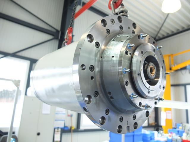 Reparatur einer Kessler DMS 132.60.4 FOS, HSK 100 Motorspindel
