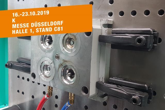 Besuchen Sie uns auf der Messe K in Düsseldorf, 16.-23.10.2019