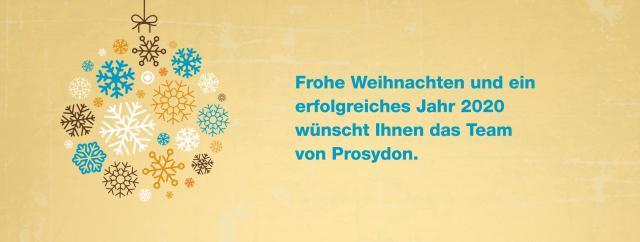 Prosydon wünscht Frohe Weihnachten!