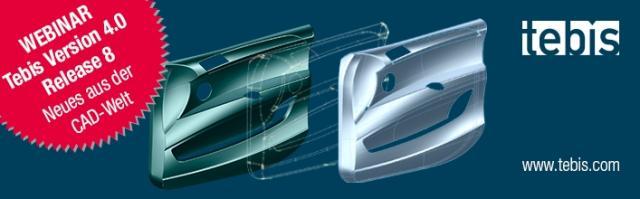 Auf in die nächste Runde – Webinar V4.0 R8: Neues aus der CAD-Welt