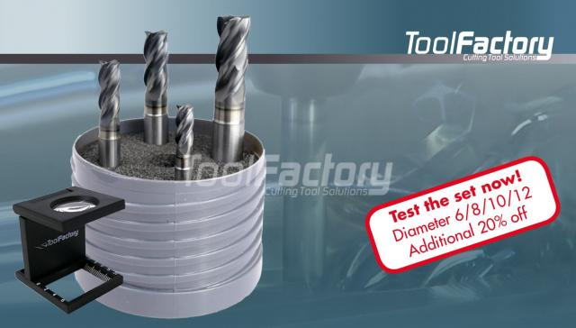 Solid carbide end mills of the latest generation
