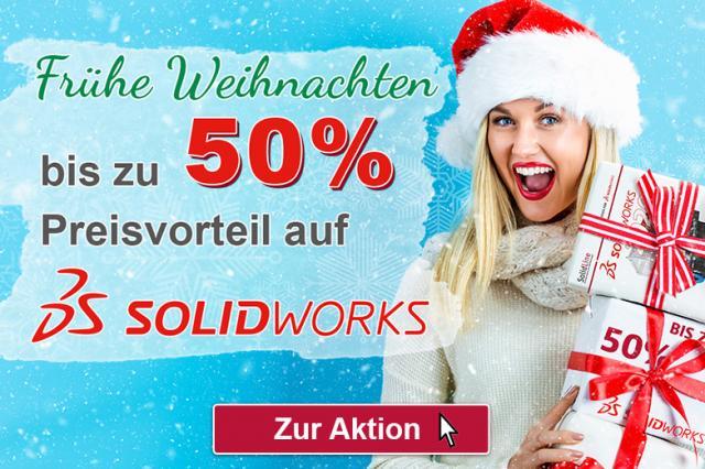Letzte Chance: 50% Rabatt auf alle SOLIDWORKS Lösungen!