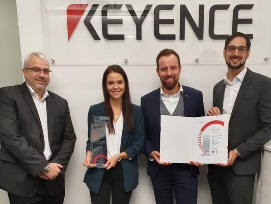 Platz 1 beim inspect award 2019: KEYENCE 3D-Koordinatenmessgerät XM
