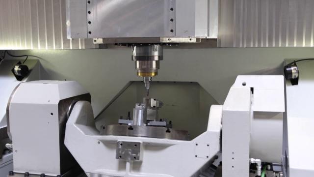 Schwebende Komponenten in der Werkzeugmaschine