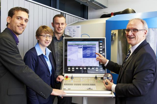 Industry 4.0 components changing machine tools and their environment