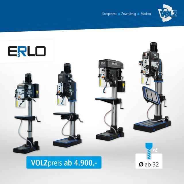 ► ERLO Serie – mit automatischen Spindelvorschüben