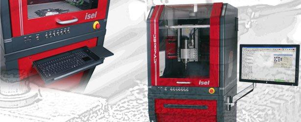 Serie ICV - CNC-Fräsmaschine mit kleiner Stellfläche!